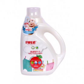 Farlin Natural Baby Clothing Detergent 1000ML (White)