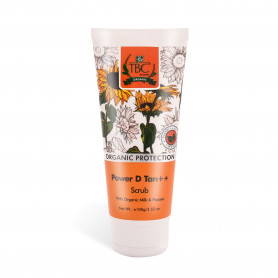 TBC Organic Power D Tan Scrub 100 gm