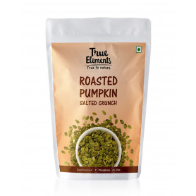 True Elements Roasted Pumpkin Seeds Salted Crunch 125gm