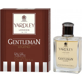 Yardley London Gentleman Legend Eau de Toilette for Men- 50 ml