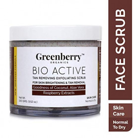 Greenberry Organics Bio Active Tan Removing Exfoliating Scrub
