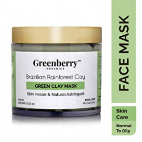 Greenberry Organics Brazilian Rainforest Green Clay Mask