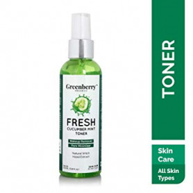 Greenberry Organics Fresh Cucumber Mint Toner