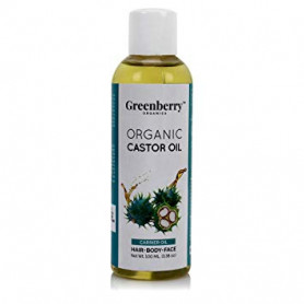 Greenberry Organics Organic Castor Oil - 100 ML