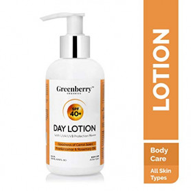 Greenberry Organics SPF 40+ Day Lotion