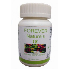 Hawaiian herbal forever nature's 18 capsule