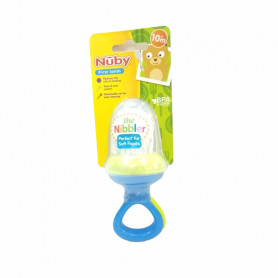 Nuby The Nibbler™ Feeder-Blue & Green