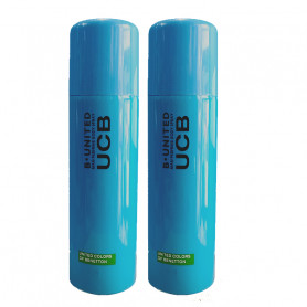 UCB B United Deodorant 200Ml (Pack Of 2)