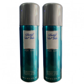 Davidoff Cool Water Man Deodorant 200Ml (Pack Of 2)