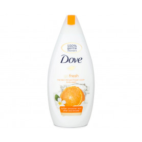 Dove Go Fresh Mandarin & Tiara Flower Scent Body Wash 500ml