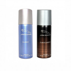 Jaguar amber,classic blue Body Spray - For Men & Women  (150 ml, Pack of 2)