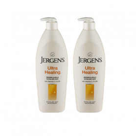 Jergens Imported Ultra Healing Skin Moisturizer 496ml-Pack of 2