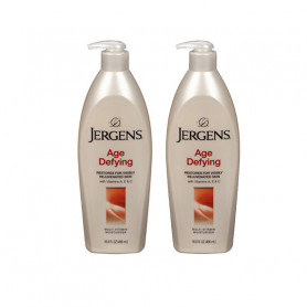 Jergens Age Defying Multi Vitamin Moisturizer 496ml-Pack of 2