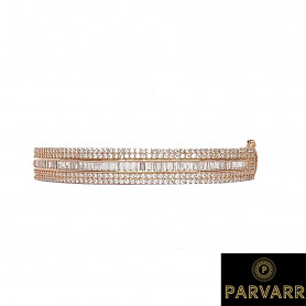 Parvarr Rose Gold Plated bracelet for Women