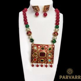 Parvarr Gold Plated Jewellery Set for Women