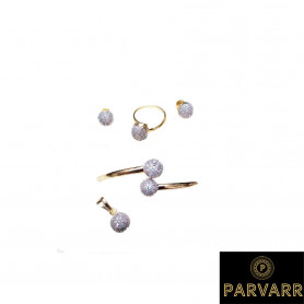 Parvarr American Diamond Jewellery Set for Women
