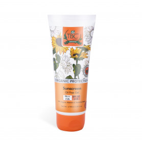 TBC Organic Sunscreen Oil Free Gel Spf 20+ 120ml