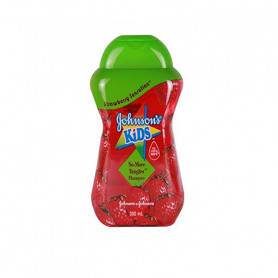 Johnson's Kids Imported No Tangles Shampoo 300ml Strawberry