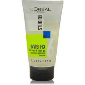 L'Oreal Paris Paris Studio Line Invisi Fix Clean & Clear Gel  (150 ml)