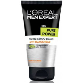 L'Oreal Paris Men Expert Pure Power X2000 Beads Anti-Blackhead Scrub  (150 ml)