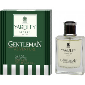 Yardley London Gentleman Adventure Eau de Toilette for Men - 50 ml