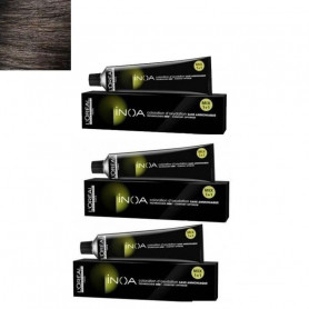 L'Oreal Professionnel Inoa Hair Colour No- 5 Light Brown, 3 Tube-60g