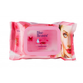 Blue Heaven Makeup Remover Cleansing Wipes (30 Wipes)