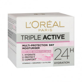 L'Oreal Triple Active Multi Protection Day Moisturiser, 50ml
