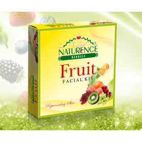 Naturence Herbals Fruit Facial Kit (80g)