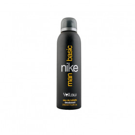 Nike Basic Yellow Deodorant Spray - For Men  (200 ml)