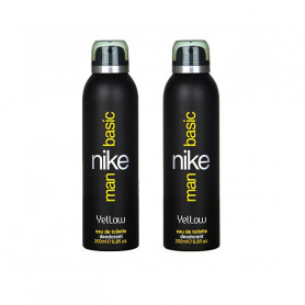 Nike Man Basic Deodorant Spray - For Men  (200 ml, Pack of 2)