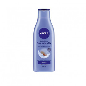 Nivea Smooth Milk Body Lotion For Dry Skin, 200ml