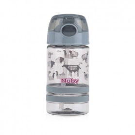 Nuby Thirsty Kids™ Flip-it™ ACTIVE 360ml- Grey
