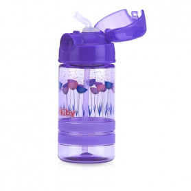 Nuby Thirsty Kids™ Flip-it™ ACTIVE 360ml- Purple
