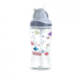 Nuby Thirsty Kids™ Flip-it™ BOOST 360ml-Grey