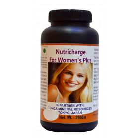 Tonga Herbs Nutricharge For Women's Plus Tea - 250 Gm (Buy Any Supplement Get The Same 60ml Drops Free)