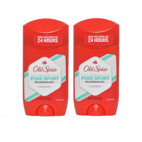 Old Spice Imported High Endurance  PURE SPORT SCENT Anti-Perspirant Deodorant Stick - For Men  (63 g, Pack of 2)