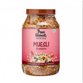 True Elements Strawberry Muesli 1000gm