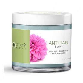 Organic Harvest Anti Tan Scrub 100g