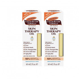 PALMERS COCOA BUTTER FORMULA SKIN THERPY OIL, 60ML-PACK OF 2