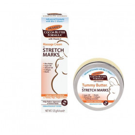 Palmer Stretch Marks (Massage Cream125g + Tummy Butter125g) Combo