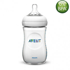 Philips Avent 260ml Natural Feeding Bottle (Clear)