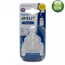 Philips Avent Classic Nipples (0M+) Twin Pack