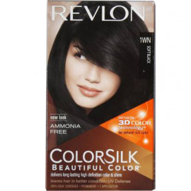 Revlon Colorsilk With 3D Technology Hair Color  (Soft Black 1WN)