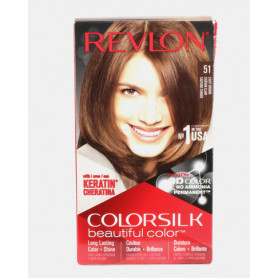 Revlon ColorSilk Beautiful Hair Color No -51 Light Brown Usa