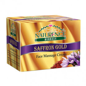 Naturence Herbal Saffron Gold Face Massage Cream (60g)