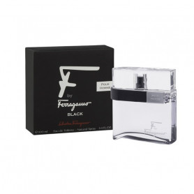 Salvatore Ferragamo Black Eau De Toilette Spray For Men, 100ml
