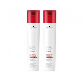 Schwarzkopf Repair Rescue Reversilane Shampoo 250Ml  Pack of 2