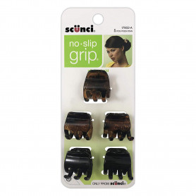 Scunci No-slip Grip Chunky Jaw Clips (Pack of 5)