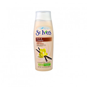 St. Ives Imported Swiss Formula Moisturizing Body Wash, Creamy Vanilla, (400 Ml)